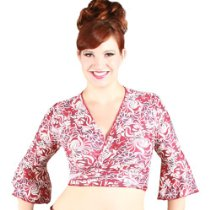 Extended Sahara Solid Wrap Top X-Lg Groovy